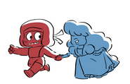 Ruby & Sapphire by Colin Howard
