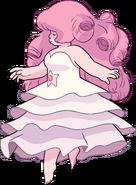 Rose Quartz Floating By Chara