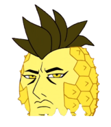 Yellowdiamond pineapple