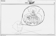 Now We're Only Falling Apart Storyboard 1