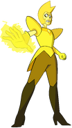 Yellow Diamond (10) by RylerGamerDBS