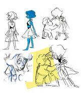 Lapis Lazuli character design