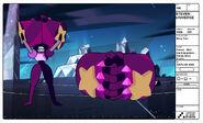 Garnet - With Giant Gauntlets - Galaxy Warp Palette