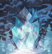 Icy Blockage Background