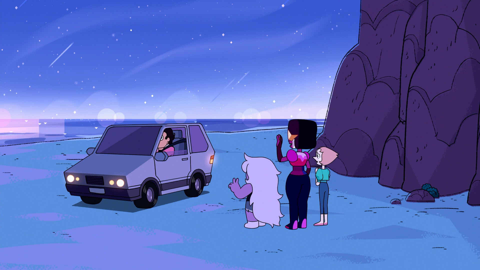 Farewell, Crystal Gems / Being Human