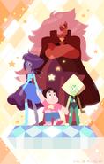 Steven and the Homeworld Gems