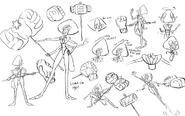 Sardonyx drawing concept art by Colin Howard 1