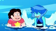 Room For Ruby - Lapis Lazuli tries to fly next to Steven 2.jpg