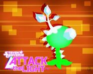 Attack the light green plant wallpaper by ponychaos13-d974dy3