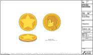 Arcade Mania Model Sheet Falling Coins