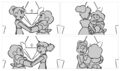 Together Alone - Steven and Connie dancing storyboard