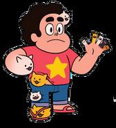 Steven Cat fingers