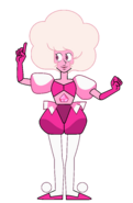 Pink Diamond Pose PNG by TheOffColors