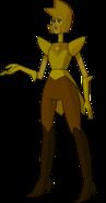 Yellow Diamond (Desert Shadow Palette) by RylerGamerDBS