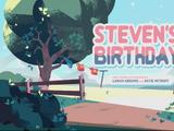 Urodziny Stevena