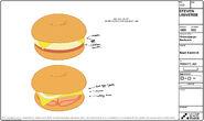 Cheeseburger Backpacks Model Sheets (4)