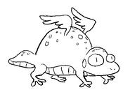 Wind Lizard Sketch by Jeff Liu 3