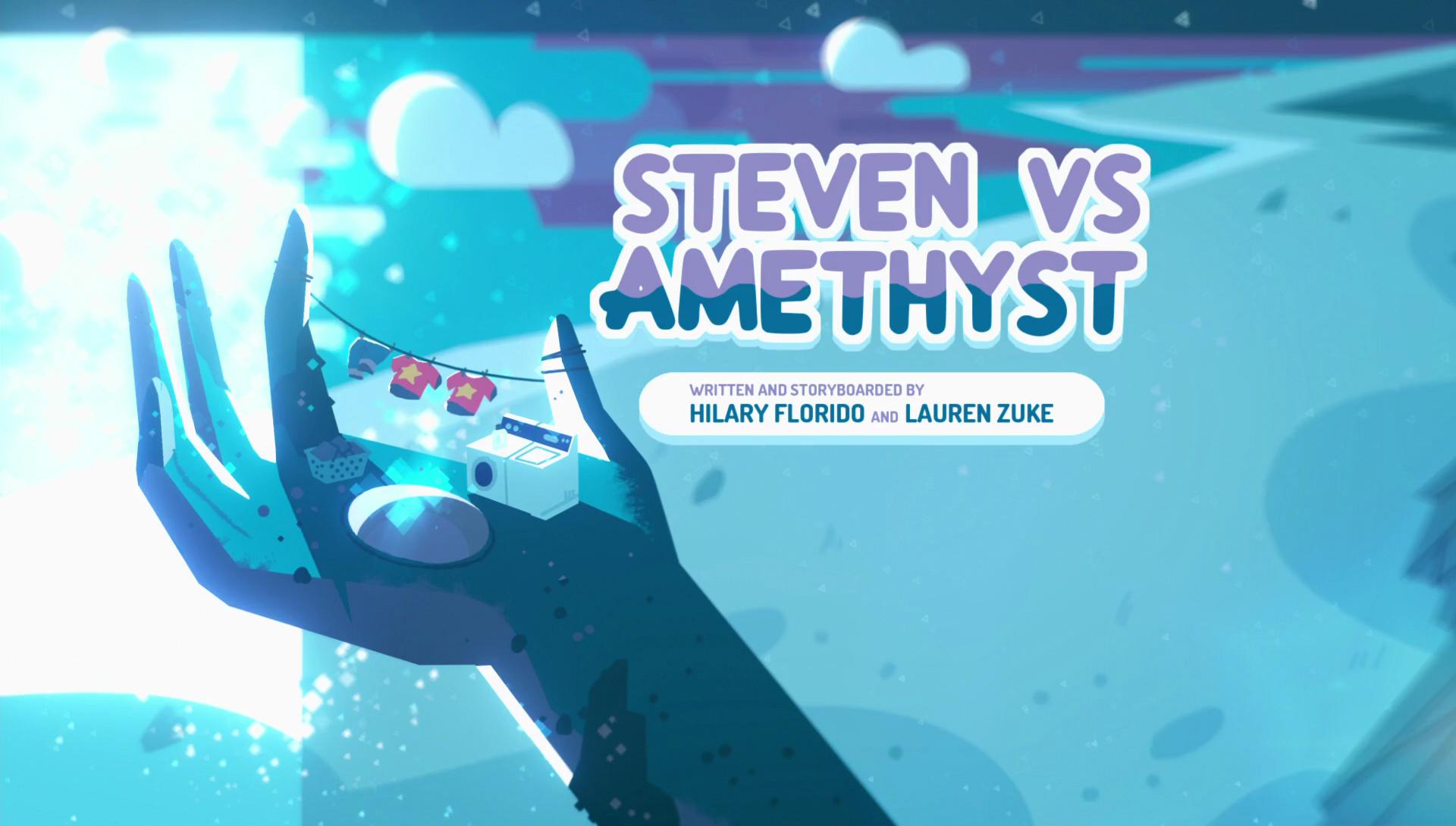 Steven vs. Amethyst