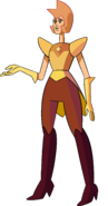 Yellow Diamond (Pink's Legs Palette) by RylerGamerDBS