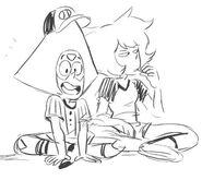 Hit the Diamond Drawing Zuke Peridot Lapis