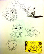 JL Cookie Cat Doodles