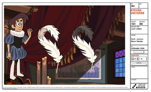 Love Letters Model Sheet Quill