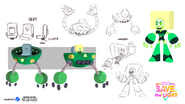 Save the Light Concept art Squaridot
