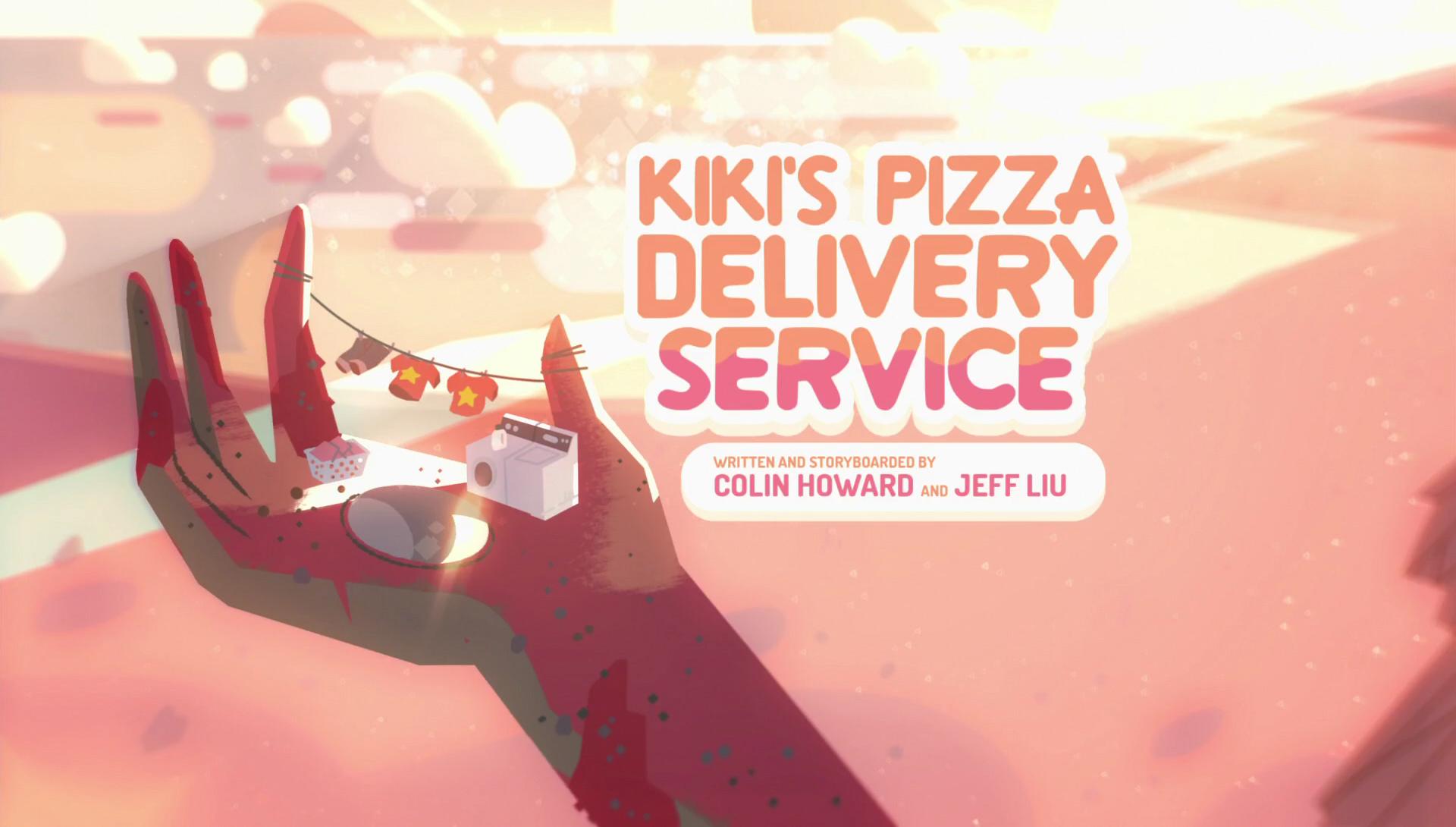 Kiki's Pizza Delivery Service