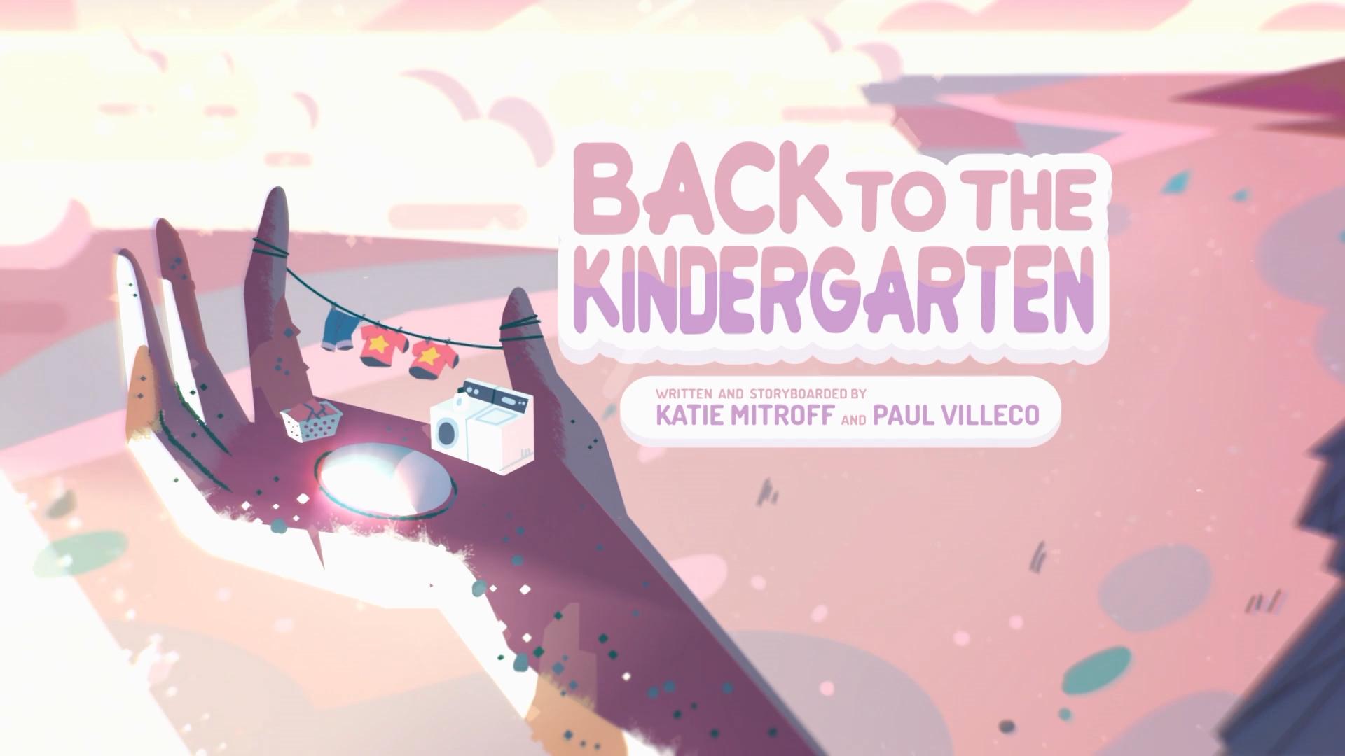 Back to the Kindergarten/Gallery