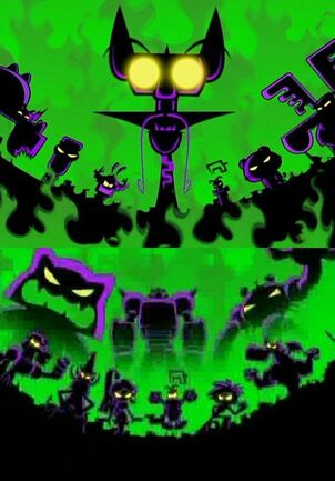 Night Master (Up) and Chester V (Down)'s Army of Villains.jpg