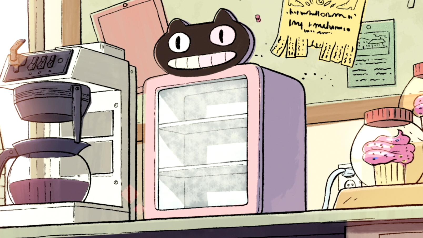 Mini Freezer do Biscoito Gatinho