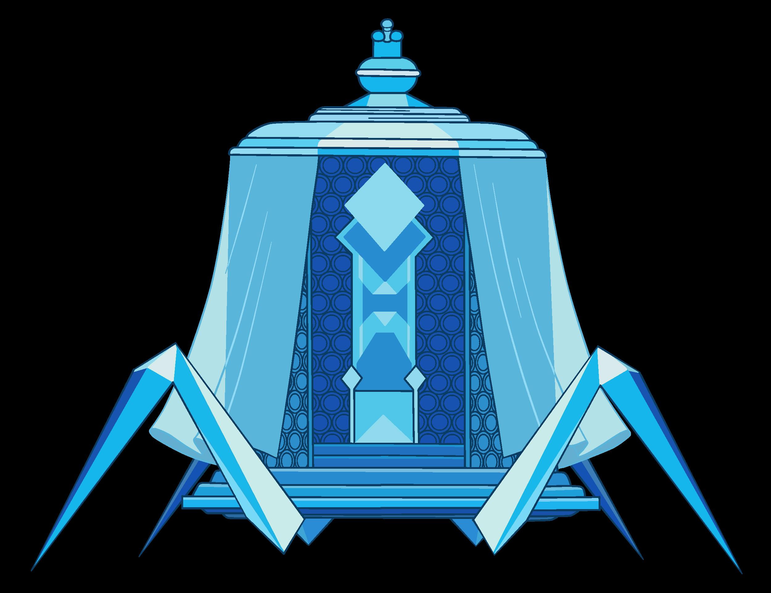 Palanquim de Diamante Azul