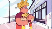 Ronaldo abraçando Peedee.