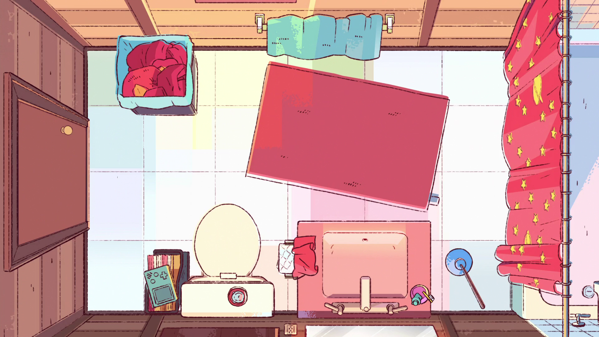 Banheiro de Steven