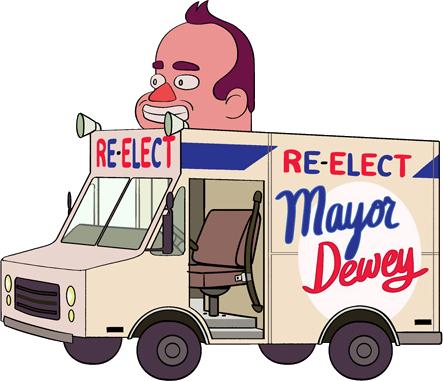 Van do Prefeito Dewey