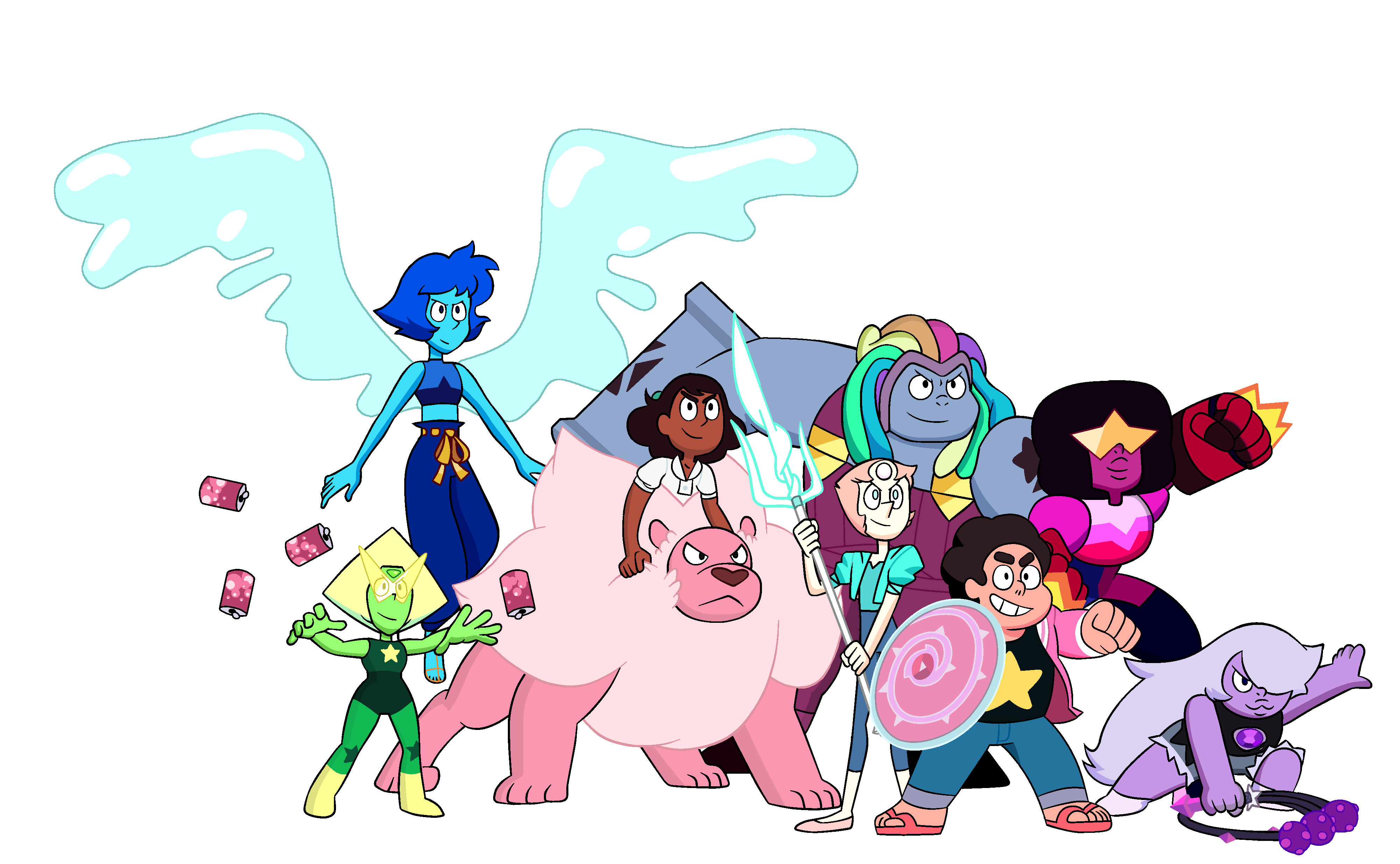 Crystal Gems Steven Universo Wiki Fandom