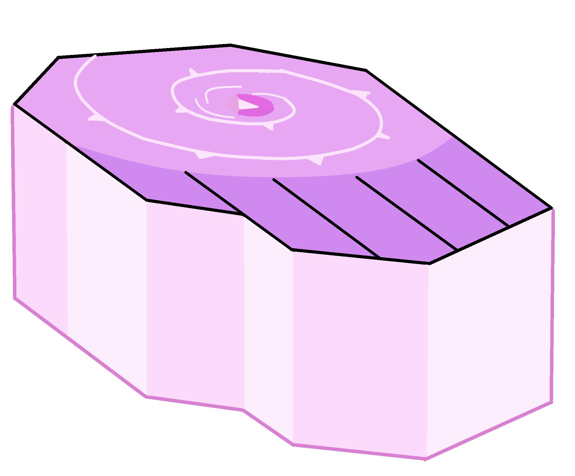 Pedestal de Rose Quartz