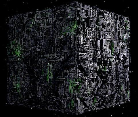 Borg scoutship