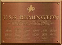 USS Remington Dedication Plaque.jpg