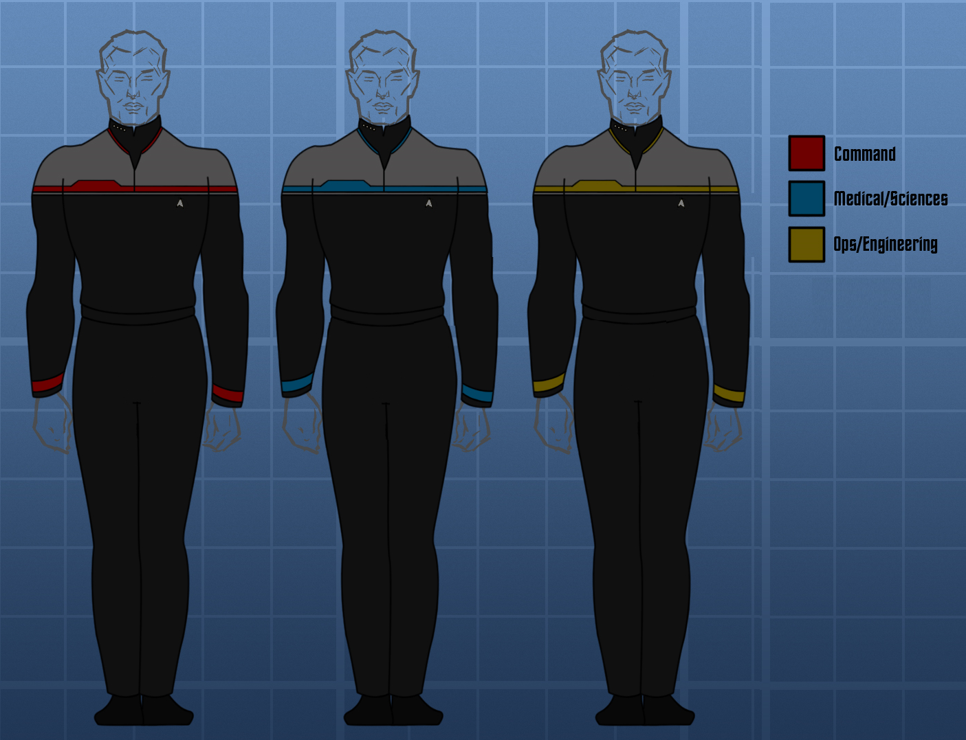 Starfleet uniform (2386) (Prometheus)