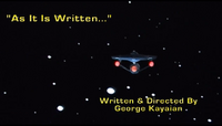 SA As It Is Written title card.png