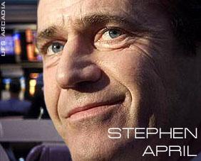 Stephen April