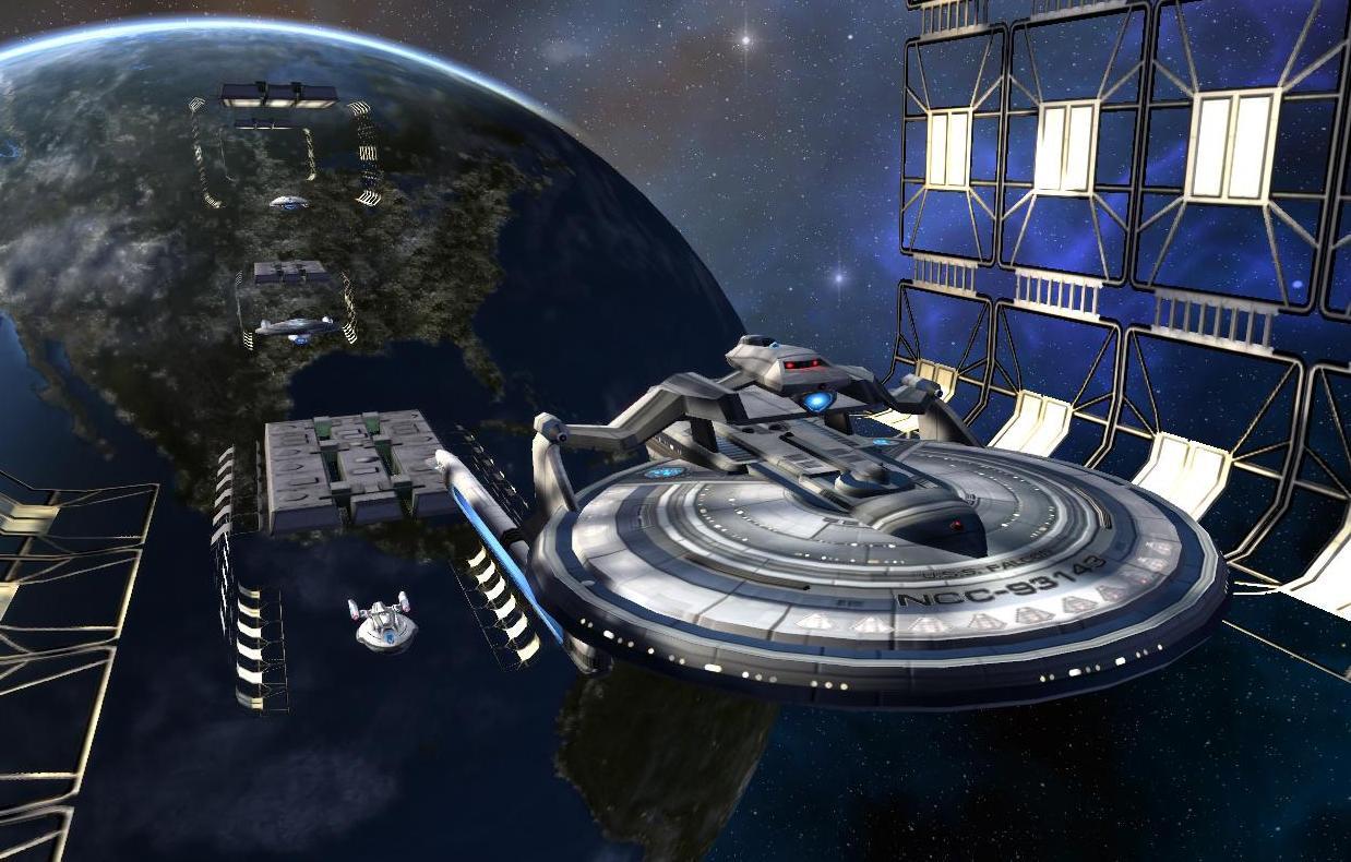 Star Trek: On the Line