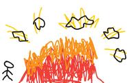 Exploding jet