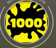 1000 kills
