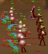 Scorplings vs spearcher
