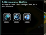 The Dimensional Drifter