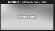 Inv empty