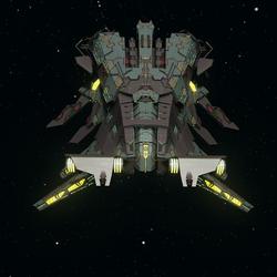 Elachi Ornash Battlecruiser