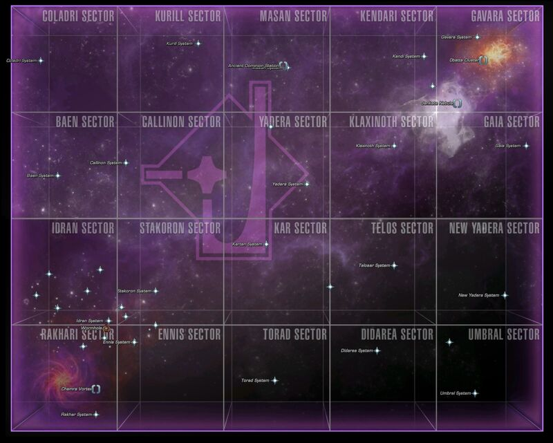 Map of the Gamma Quadrant
